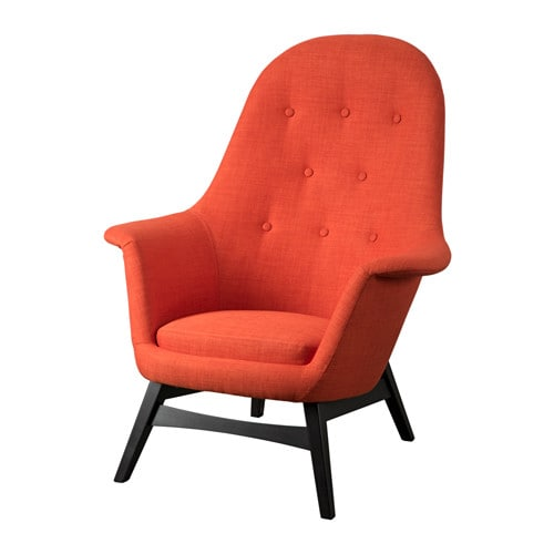 Armchairs recliner chairs ikea for Fauteuil ikea orange