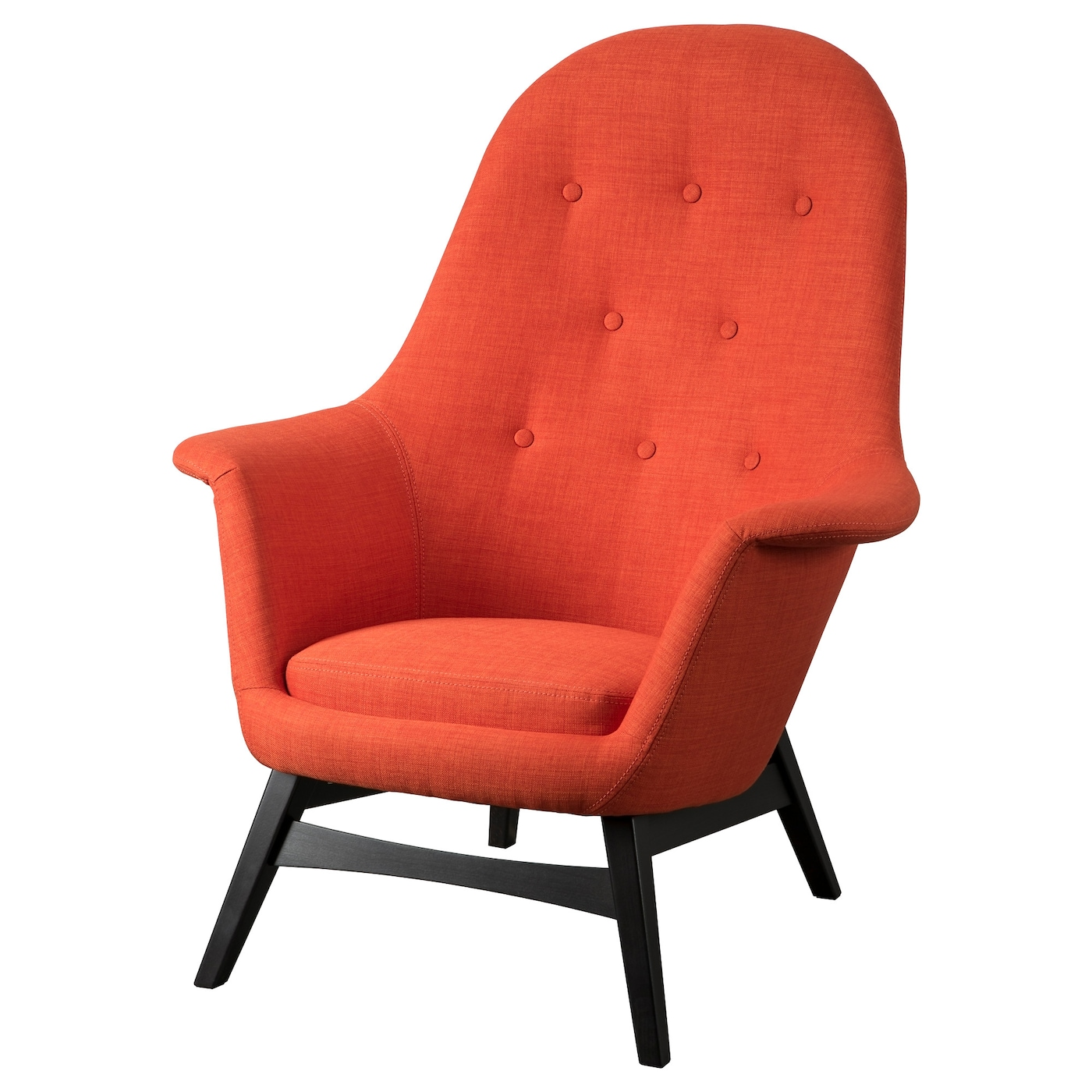 IKEA BENARP Armchair The High Back Gives Good Support For Your Neck And Head
