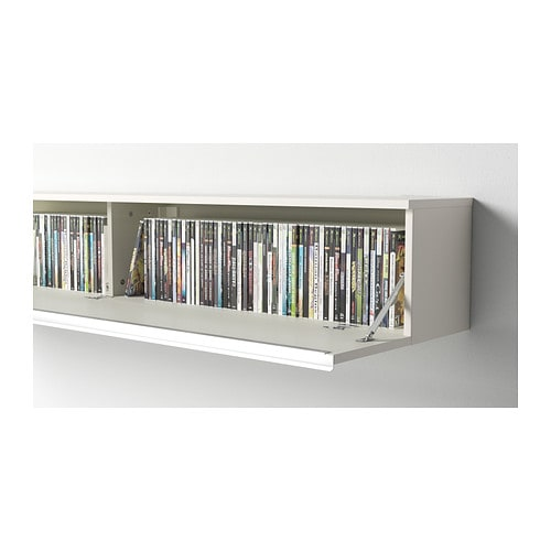 Best burs wall shelf high gloss white 180x26 cm ikea for Ikea meuble mural besta
