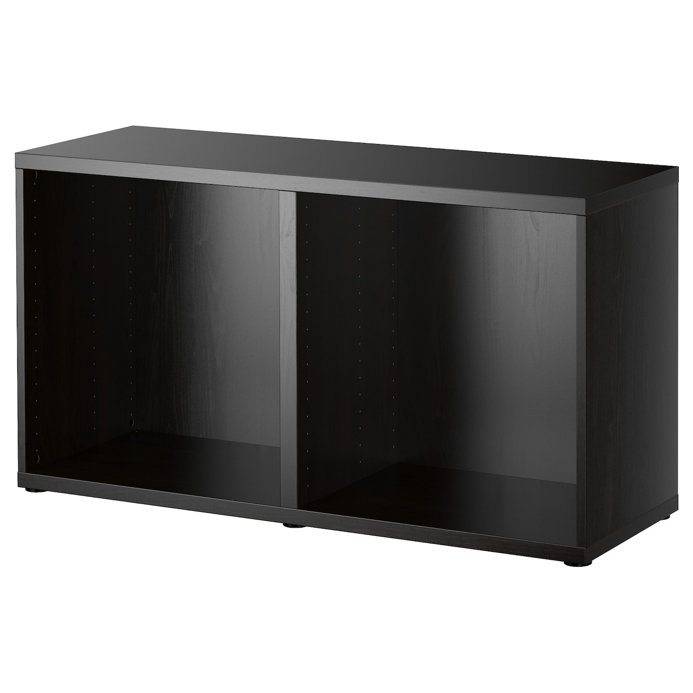 Best frame black brown 120x40x64 cm ikea - Ikea estanteria besta ...