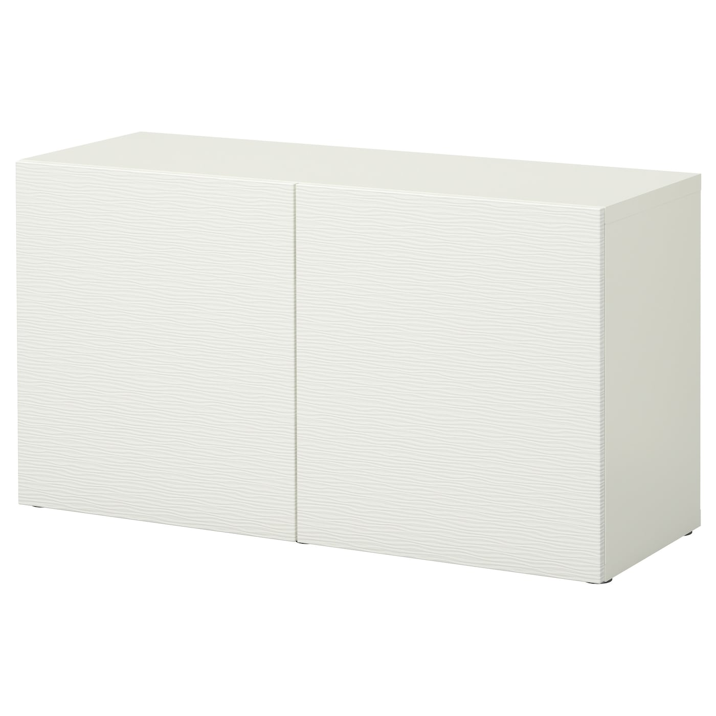 best shelf unit with doors laxviken white 120x40x64 cm ikea. Black Bedroom Furniture Sets. Home Design Ideas