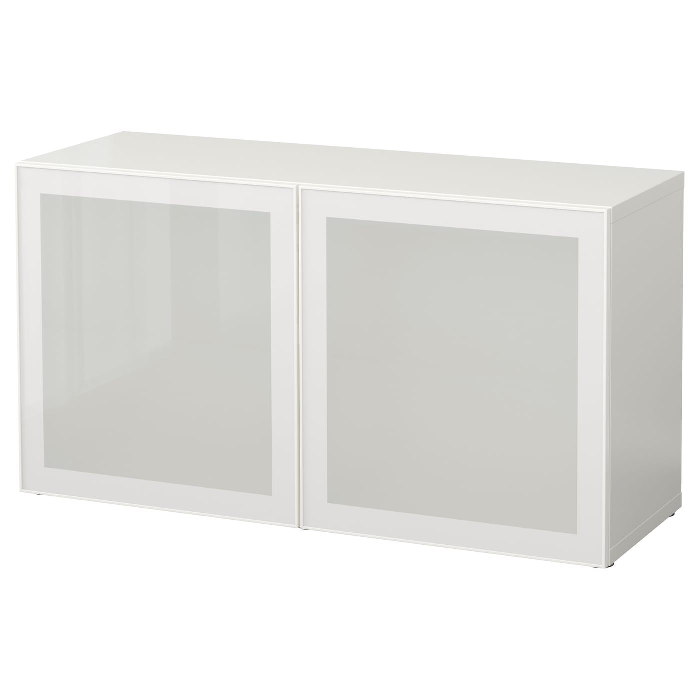 Best Shelf Unit With Glass Doors Whiteglassvik Whitefrosted Glass