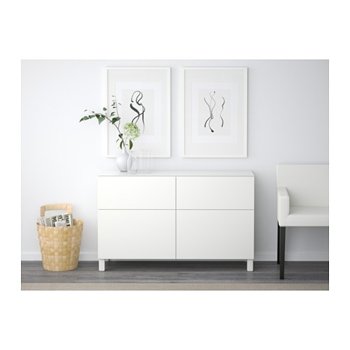 best storage combination with drawers lappviken white 120x40x74 cm ikea. Black Bedroom Furniture Sets. Home Design Ideas