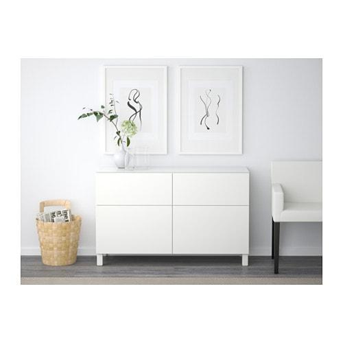 best storage combination with drawers lappviken white 120x40x74 cm ikea. Black Bedroom Furniture Sets. Home Design Ideas