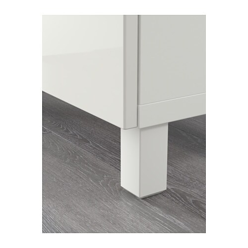 BEST Storage Combination With Drawers White Selsviken High Gloss White 180x4