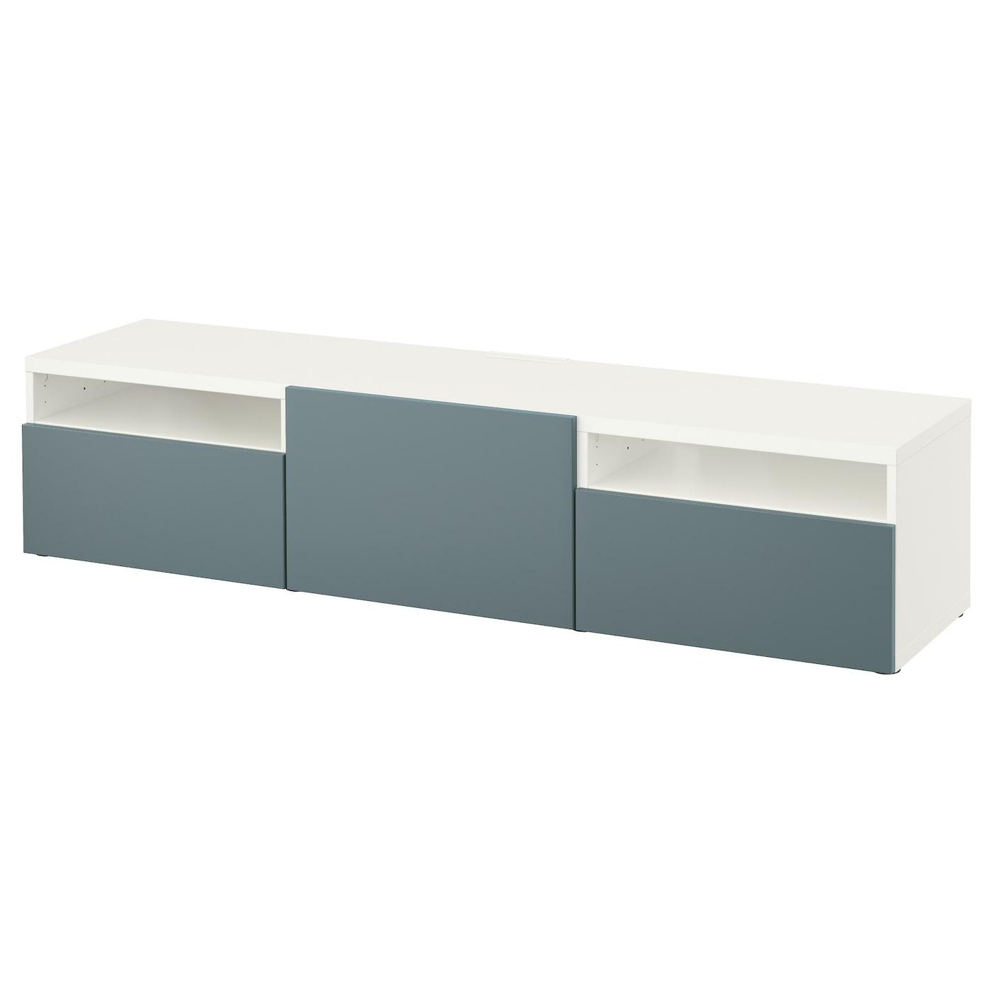 besta tv bank swalif. Black Bedroom Furniture Sets. Home Design Ideas