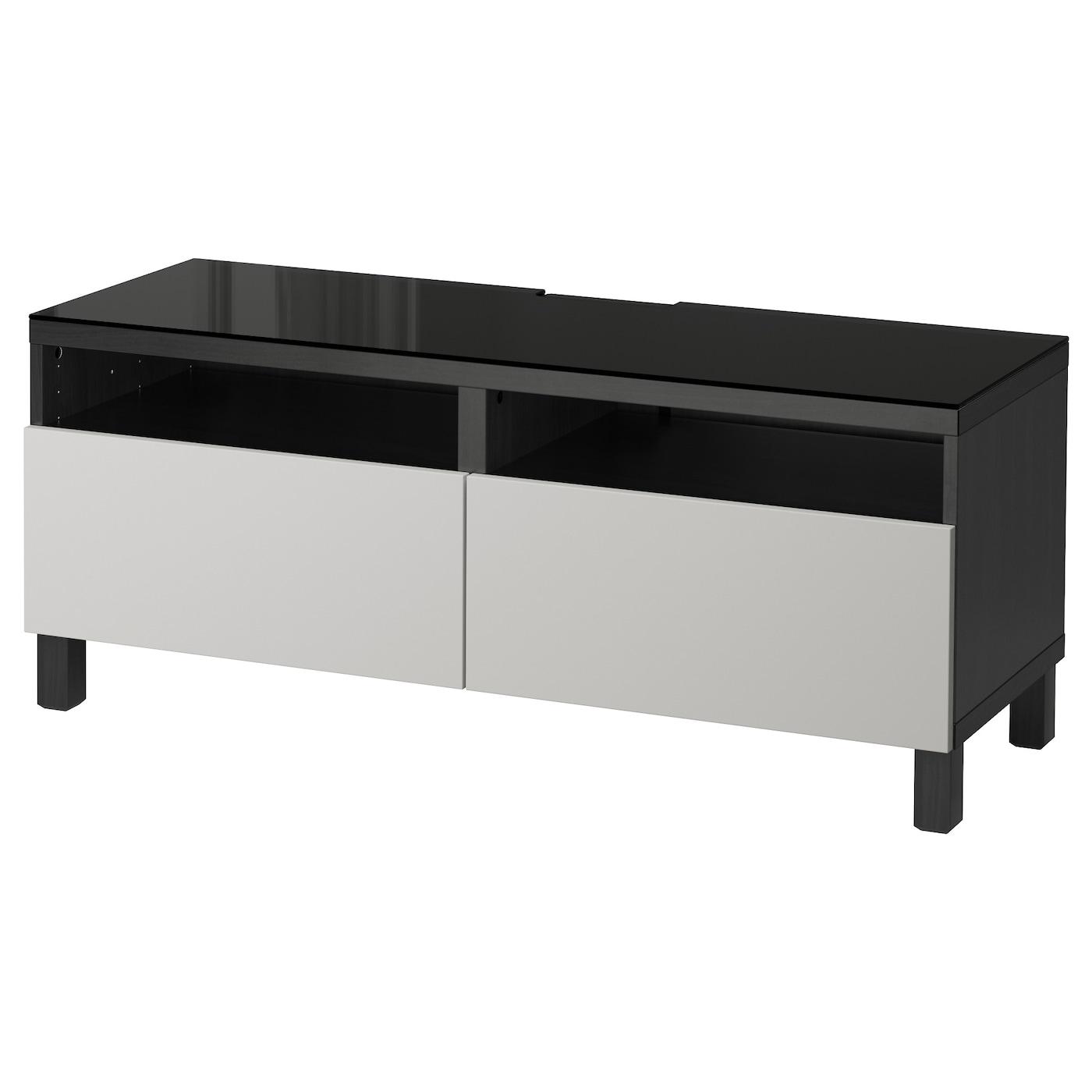 Best Tv Bench With Drawers Black Brown Lappviken Light Grey 120x40x48 Cm Ikea