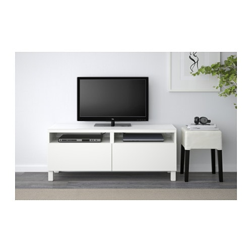 best tv bench with drawers lappviken white 120x40x48 cm ikea. Black Bedroom Furniture Sets. Home Design Ideas