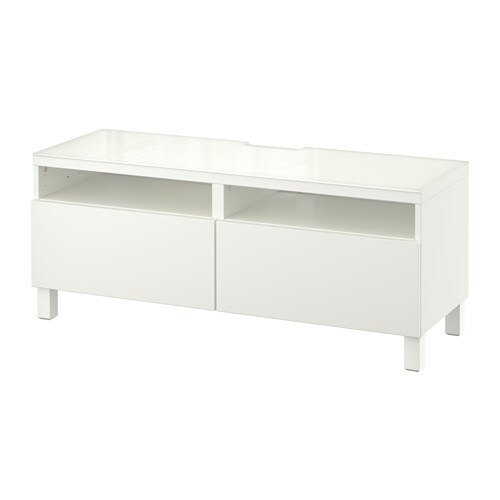 best tv bench with drawers lappviken white 120 x 40 x 48 cm ikea. Black Bedroom Furniture Sets. Home Design Ideas