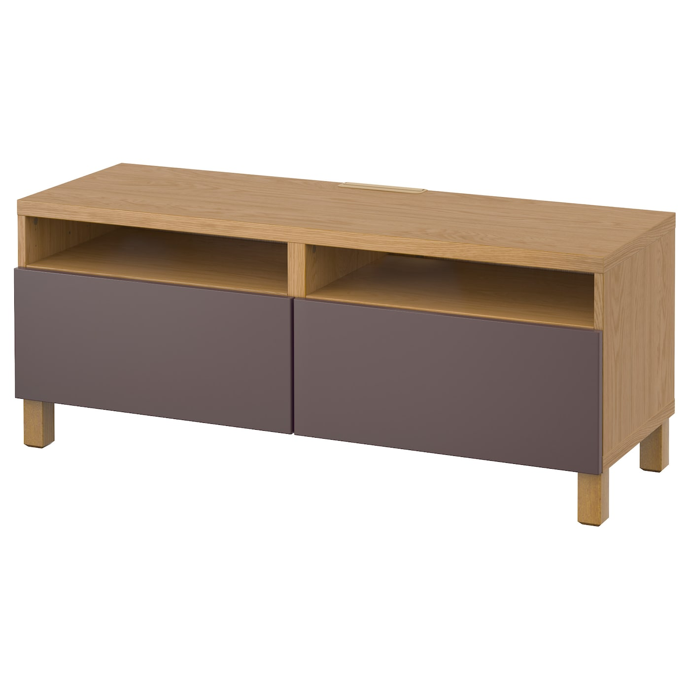 Best Tv Bench With Drawers Oak Effect Valviken Dark Brown 120x40x48 Cm Ikea
