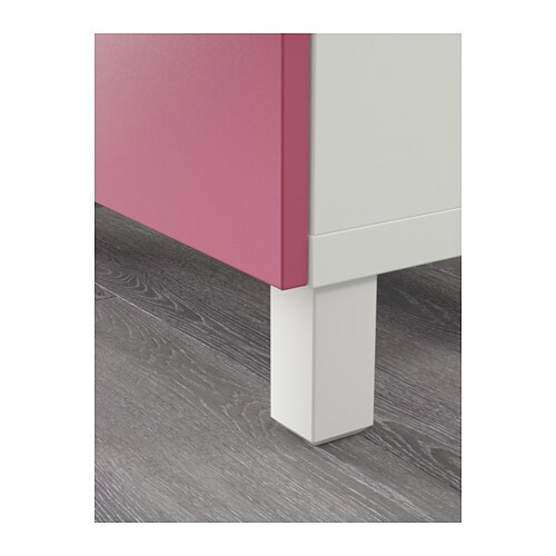 Meuble Tv Turquoise Ikea : BestÅ Tv Bench With Drawers Whitelappviken Pink 120x40x74 Cm – Ikea