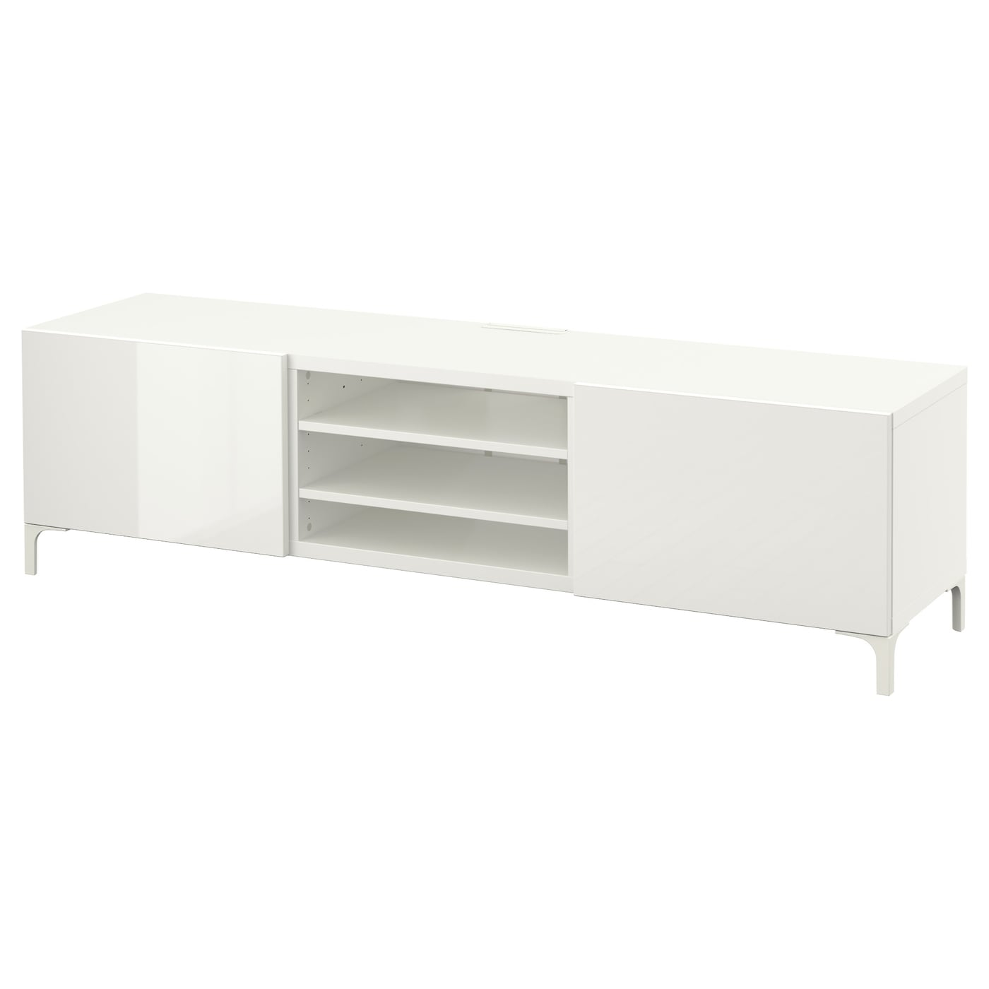 best tv bench with drawers white selsviken high gloss white