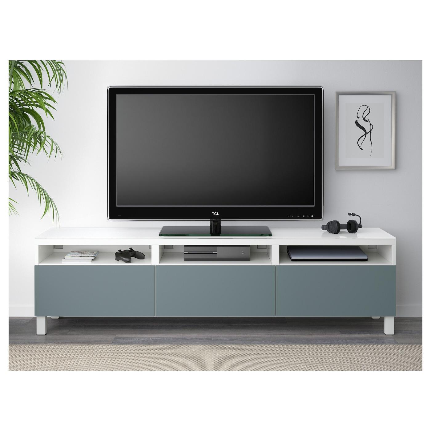 ikea tv bank besta swalif. Black Bedroom Furniture Sets. Home Design Ideas