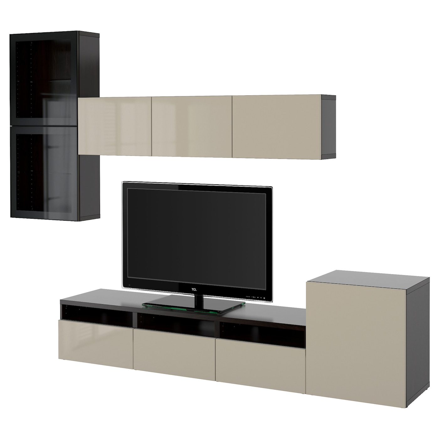 Tv Storage Unit Tv Wall Units Ikea # Meuble Support Tv
