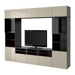 Ikea BestÅ Tv Storage Combination Gl Doors