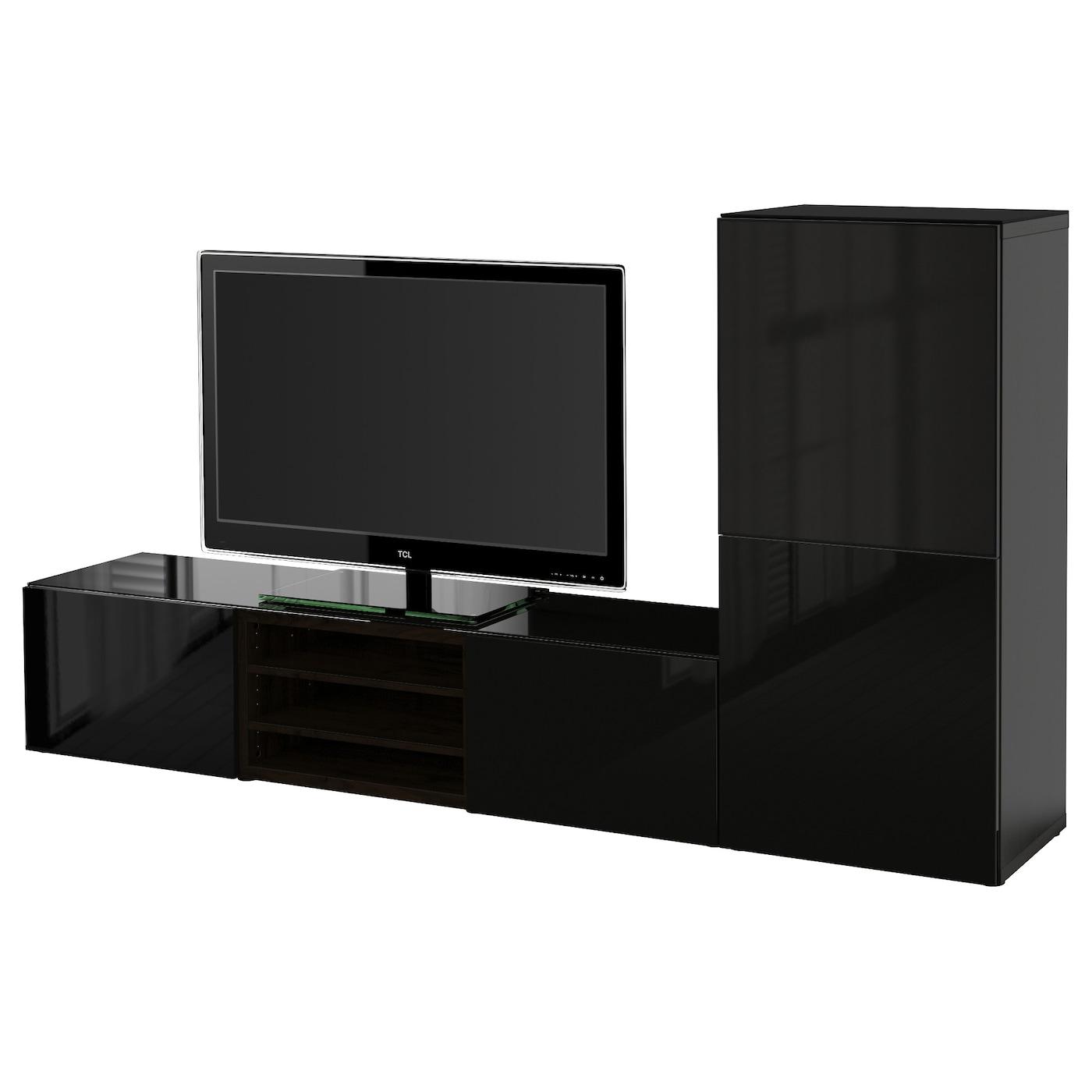 Tv Storage Unit Tv Wall Units Ikea # Composition Murale Tv Ikea