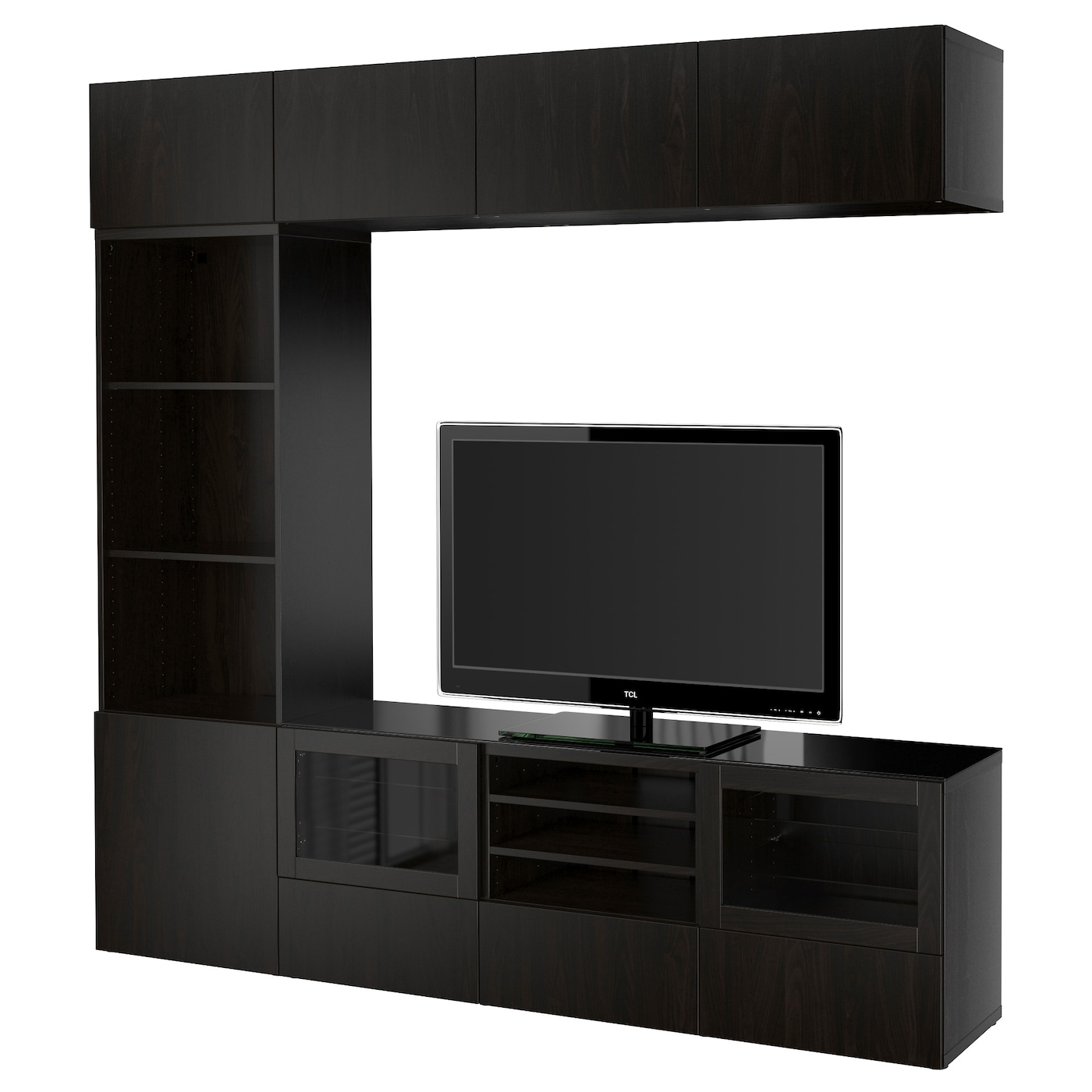 Tv Storage Unit Tv Wall Units Ikea # Meuble Tv Support Mural