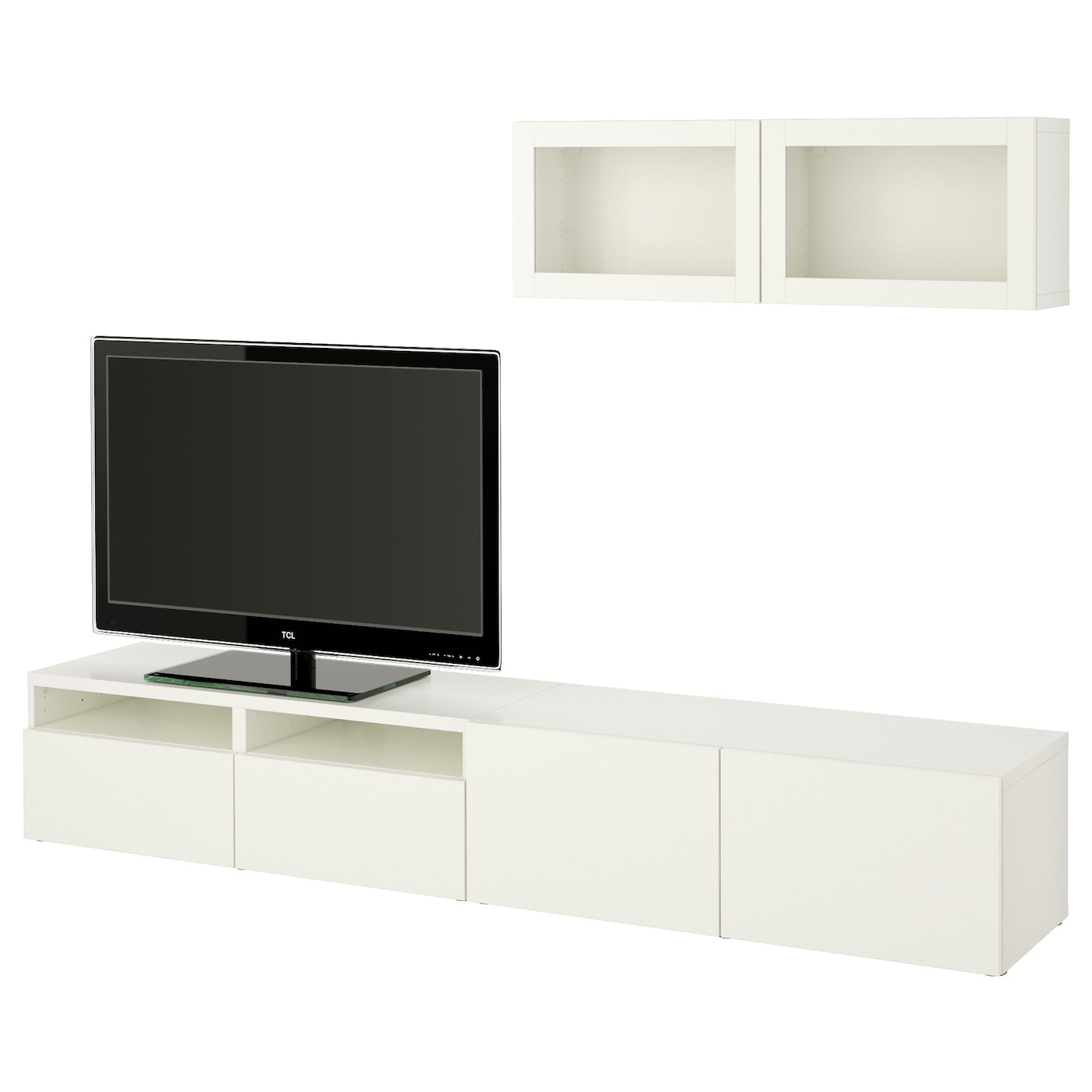 Ikea BestÅ Tv Storage Combination Glass Doors