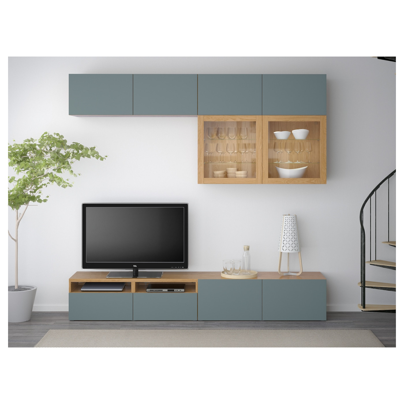 Ikea Best Tv Storage Combinationglass Doors