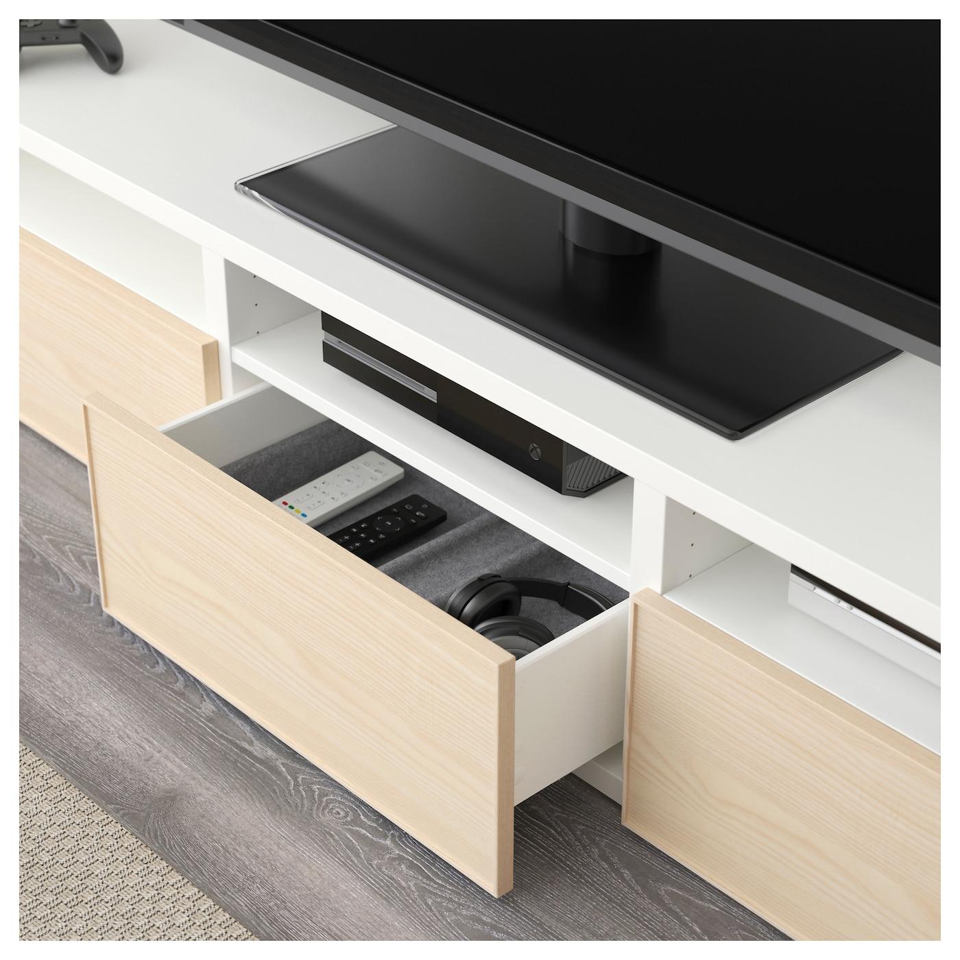 Ikea Best Tv Storage Combinationglass Doors