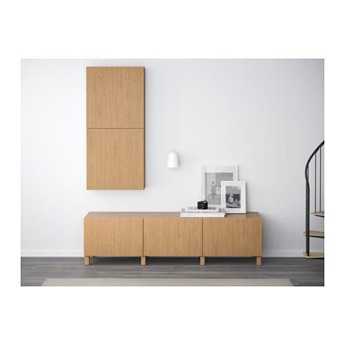 IKEA BESTÅ Wall Cabinet With 2 Doors