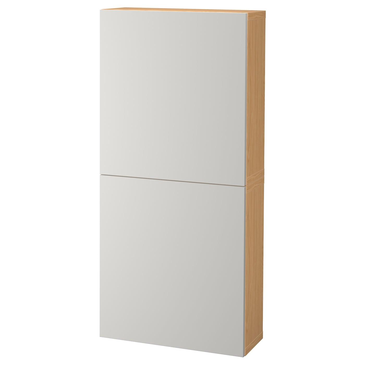 Best Wall Cabinet With 2 Doors Oak Effect Lappviken Light