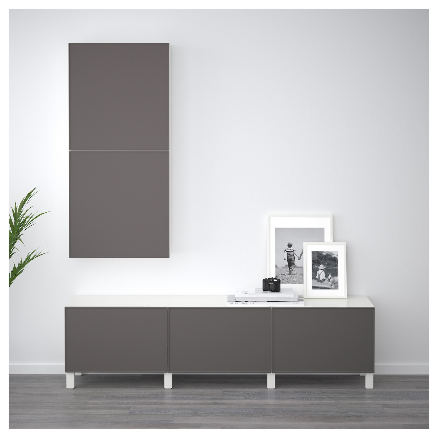 Best 197 Wall Cabinet With 2 Doors White Grundsviken Dark