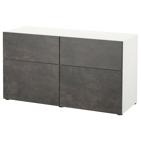 KALLVIKEN Doordrawer front dark gray