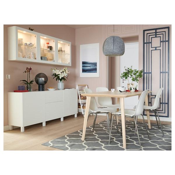 BESTÅ Storage combination with drawers, white/Lappviken/Stubbarp white, 180x42x74 cm