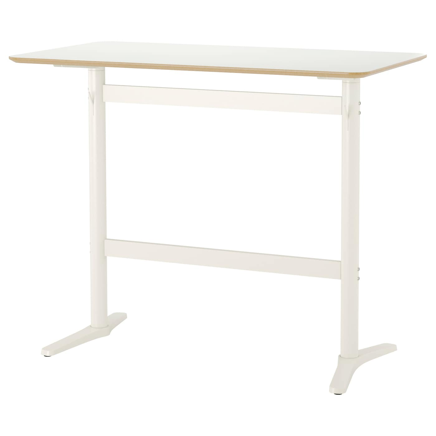 Billsta bar table white white 130 x 70 cm ikea for High table and chairs ikea