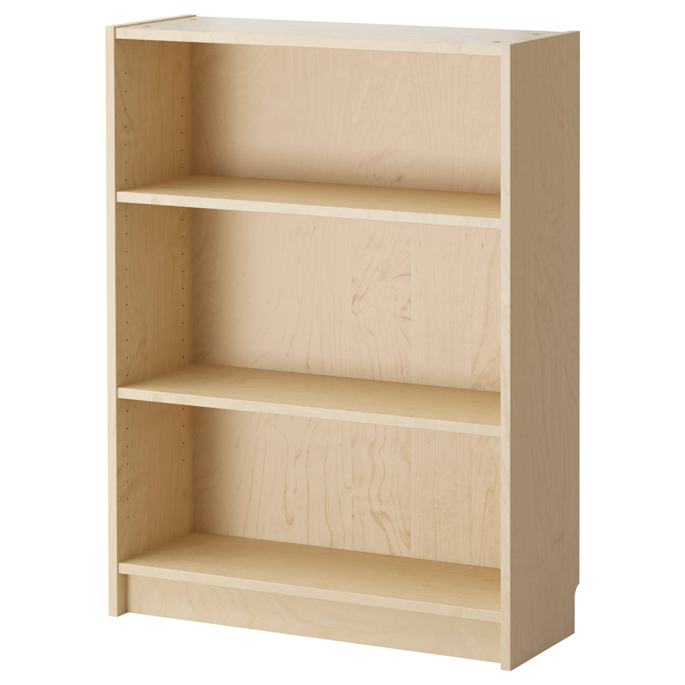 billy bookcase birch veneer 80x28x106 cm ikea. Black Bedroom Furniture Sets. Home Design Ideas