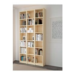 billy bookcase birch veneer 120x237x28 cm ikea. Black Bedroom Furniture Sets. Home Design Ideas