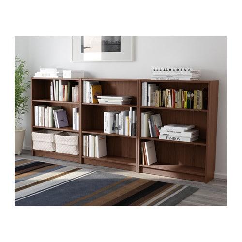 billy bookcase brown ash veneer 240x106x28 cm ikea. Black Bedroom Furniture Sets. Home Design Ideas