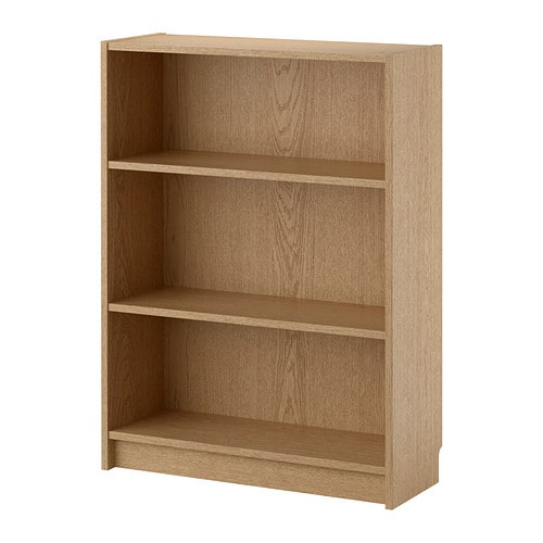 billy bookcase oak veneer 80x28x106 cm ikea. Black Bedroom Furniture Sets. Home Design Ideas
