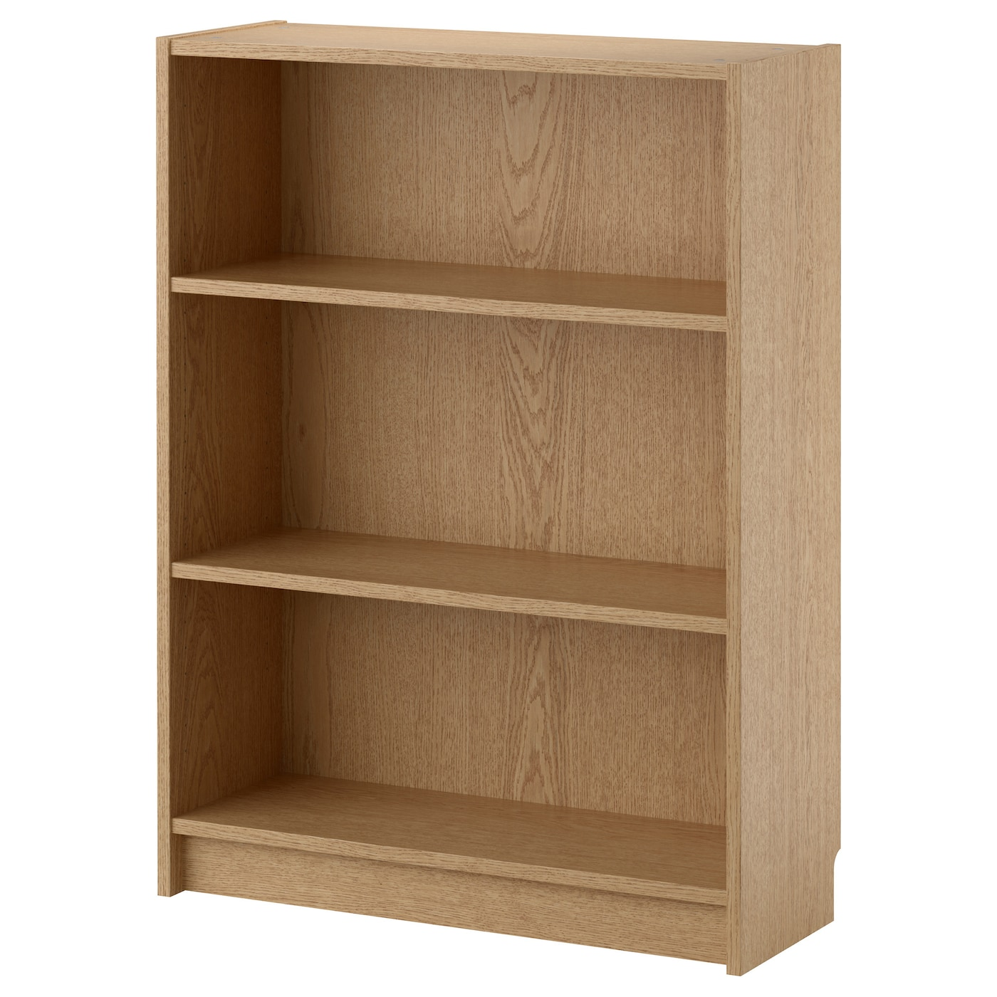 Billy bookcase oak veneer 80x28x106 cm ikea How deep should a bookshelf be