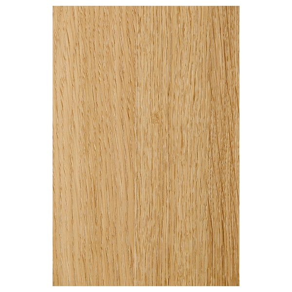 BILLY Bookcase, oak veneer, 80x28x202 cm
