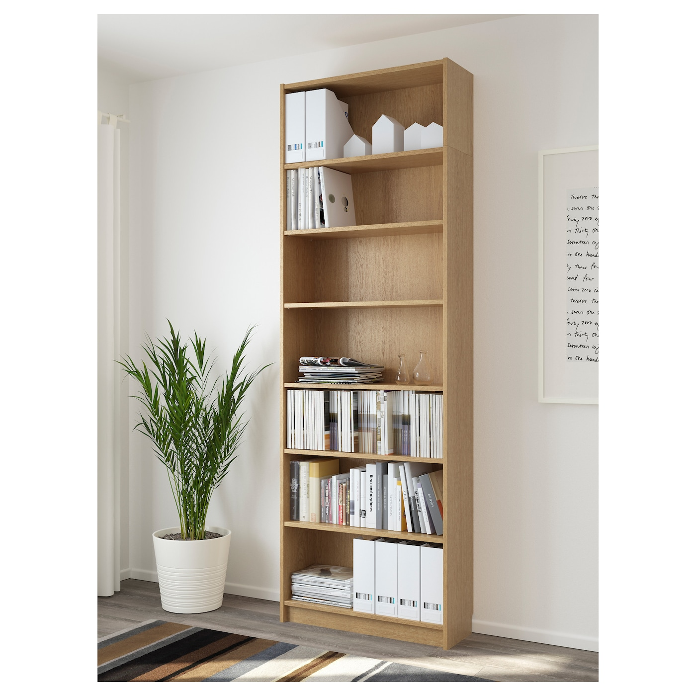 ikea billy bookcase adjustable shelves adapt space between shelves according to your needs - Billy Bookshelves