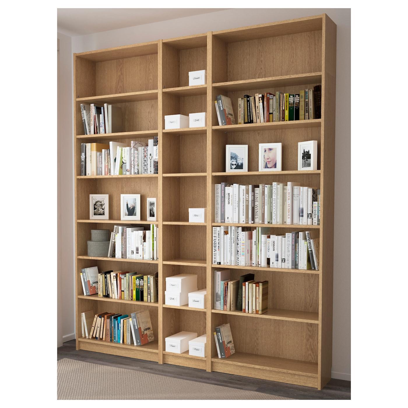 Ikea Billy Bookcase Billy Bookcase Oak 200x237x28 Cm Ikea