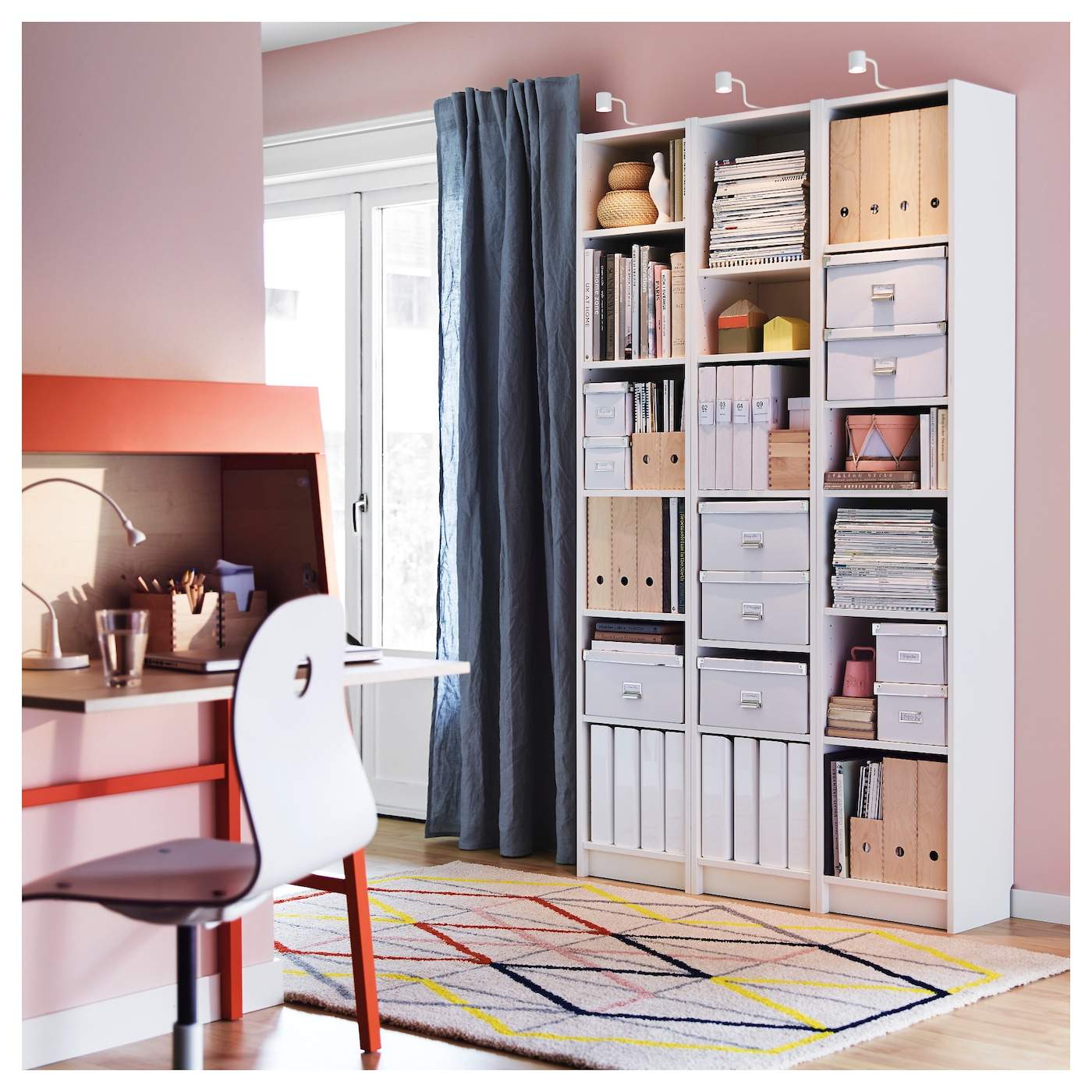 billy bookcase white 40x28x202 cm ikea. Black Bedroom Furniture Sets. Home Design Ideas