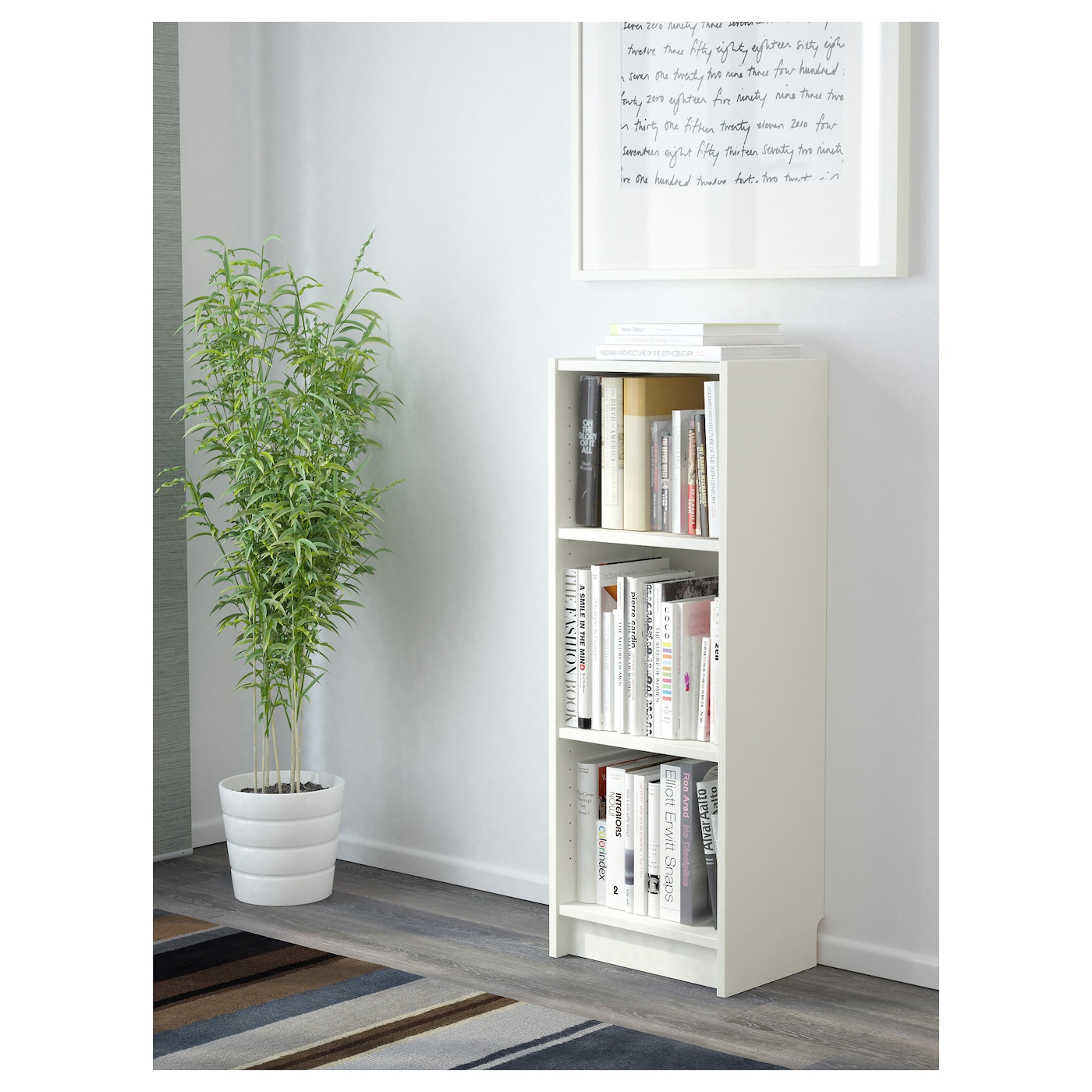billy bookcase white 40x28x106 cm ikea. Black Bedroom Furniture Sets. Home Design Ideas