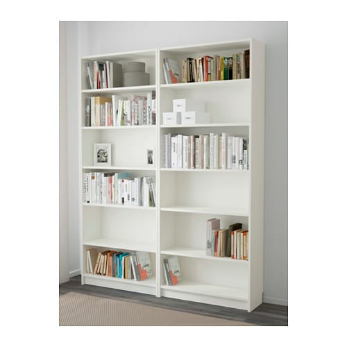 Amazing IKEA BILLY Bookcase Adjustable Shelves; Adapt Space Between Shelves  According To Your Needs.