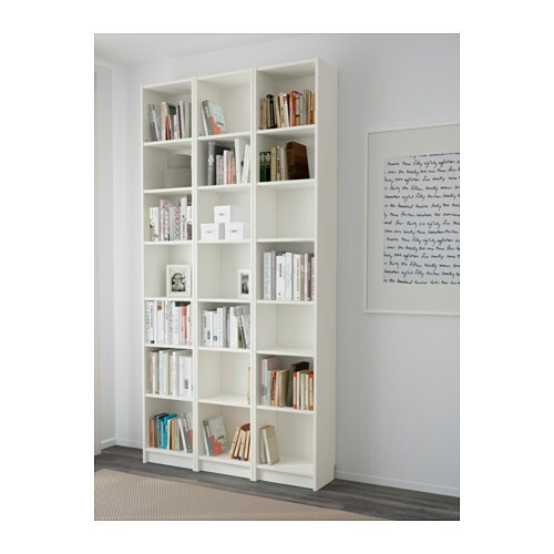 billy bookcase white 120x237x28 cm ikea. Black Bedroom Furniture Sets. Home Design Ideas