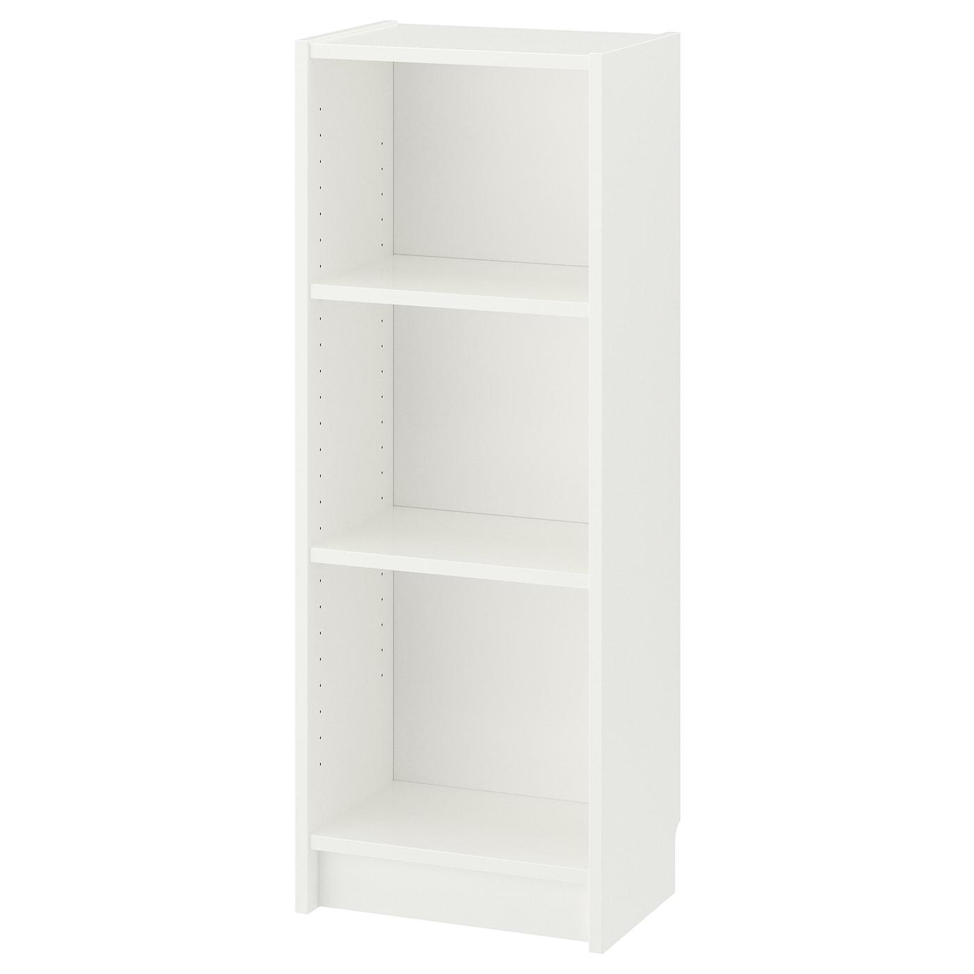 Billy White Bookcase 40x28x106 Cm Ikea