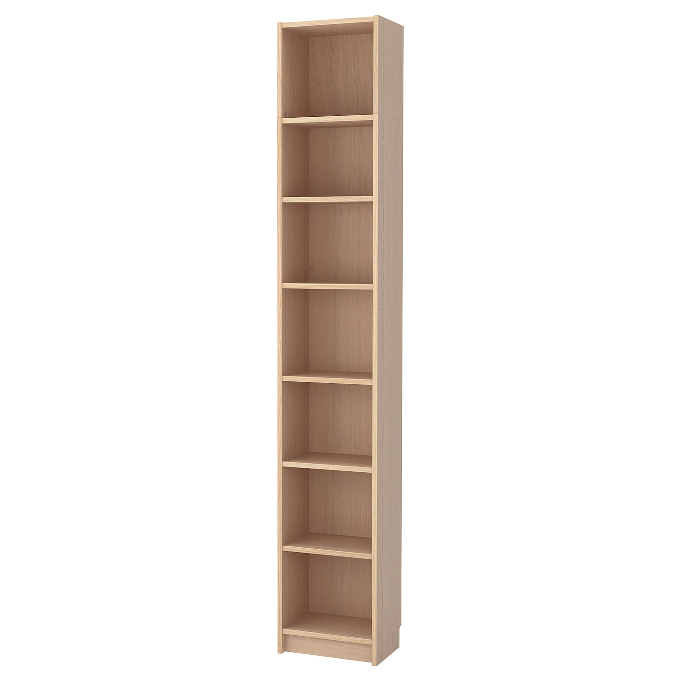 Ikea Billy Bookcase With Height Extension Unit Surface Made From Natural Wood Veneer