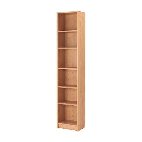 Billy bookcase ikea shallow shelves help you to use small wall spaces pictures - Bookshelves small spaces photos ...