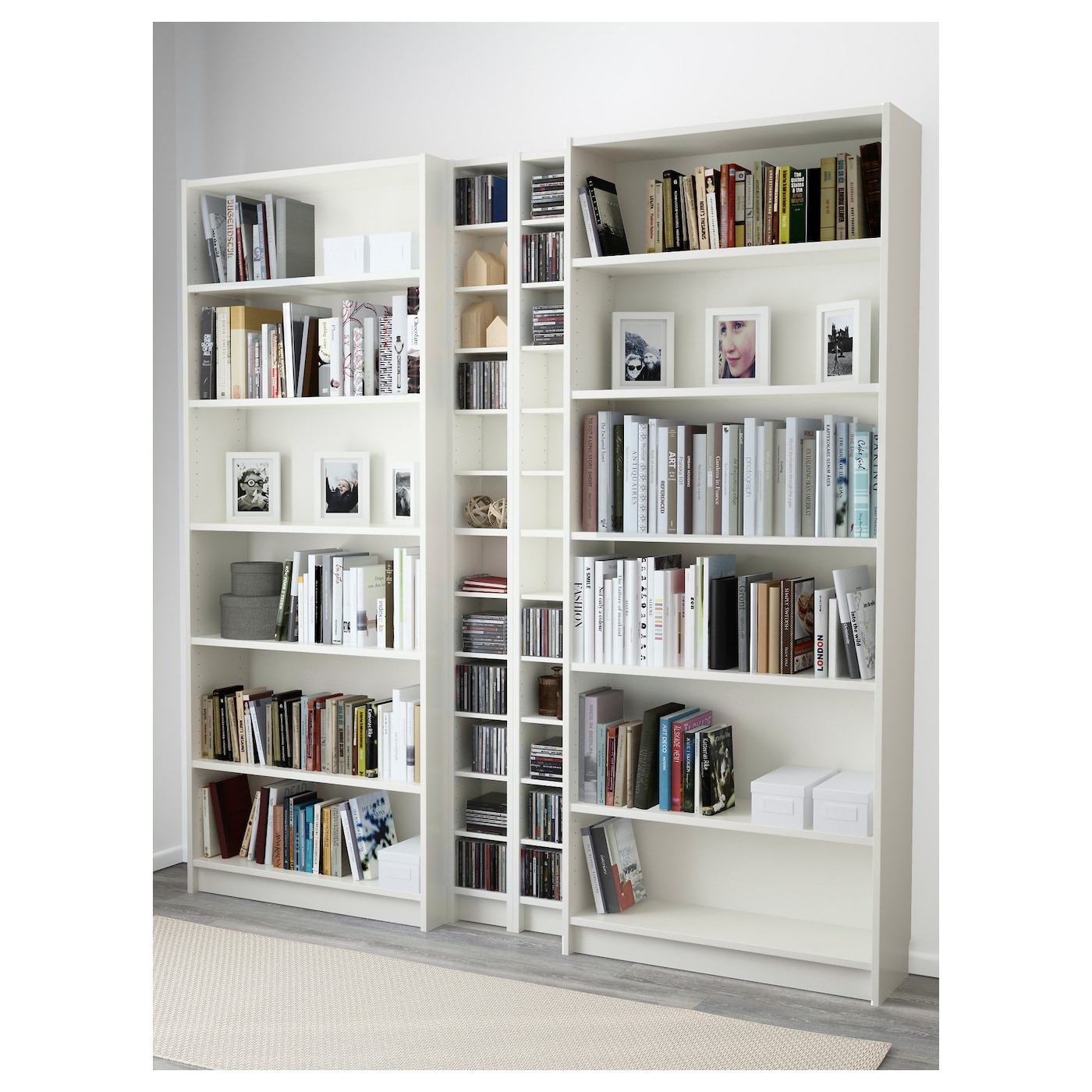 billy gnedby bookcase white 200x202x28 cm ikea. Black Bedroom Furniture Sets. Home Design Ideas