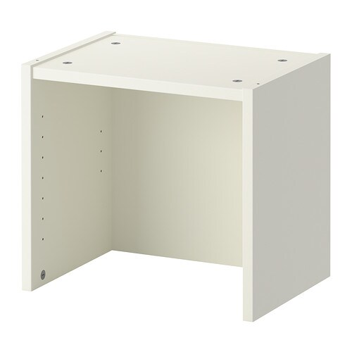 BILLY Height extension unit White 40x28x35 cm - IKEA