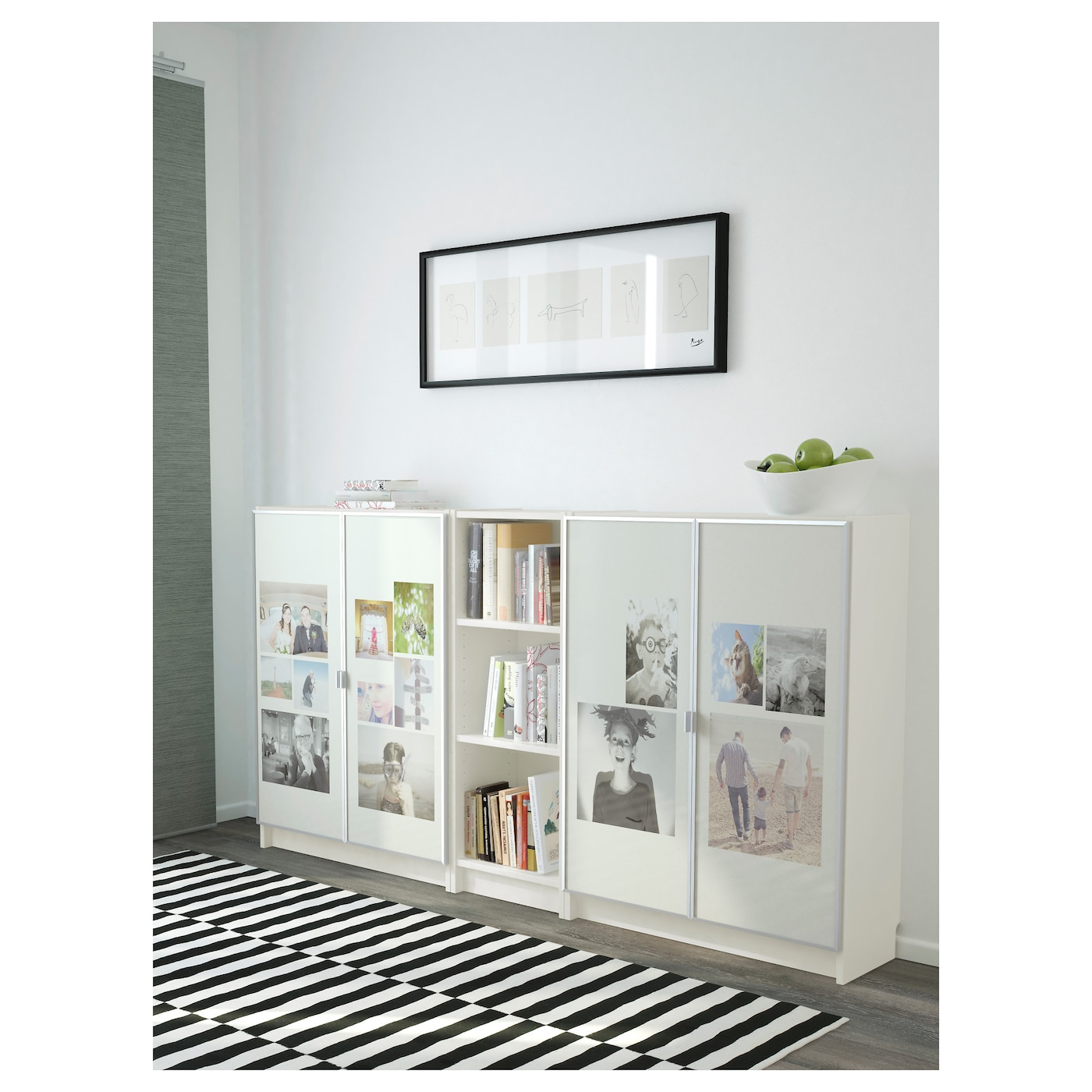 billy morliden bookcase white 200x106x30 cm ikea. Black Bedroom Furniture Sets. Home Design Ideas