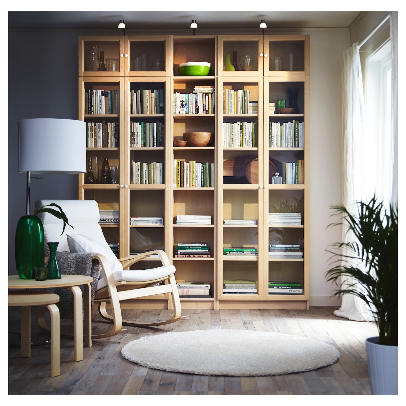 Ikea Billy Oxberg Bookcase Adjule Shelves So You Can Customise Your Storage As Needed