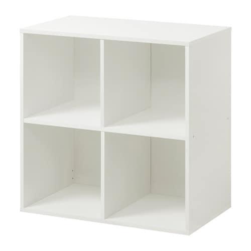 Bitr de shelving unit white 72x72 cm ikea for Meuble cube ikea